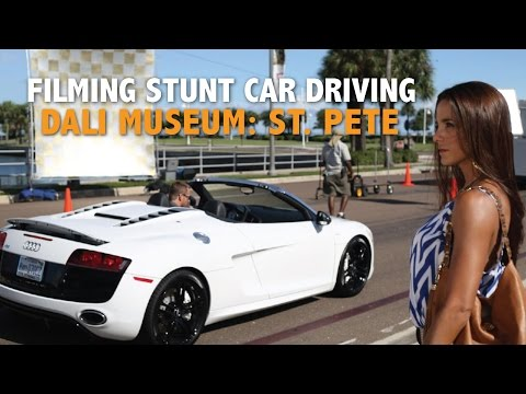 Film Commission promo, stunt driving at the Dali!