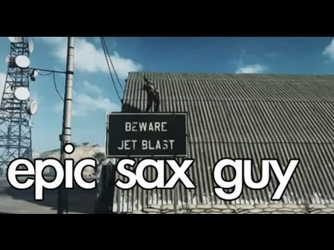 Battlefield 3 - Epic Sax Guy! video