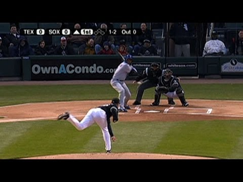TEX@CWS: Buehrle hurls a no-hitter against Texas