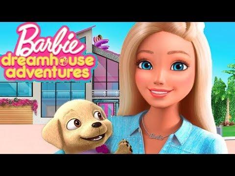 Fun Barbie Game - Barbie Dreamhouse Adventures - Barbie & Friends Design, Cook, Dance and Party