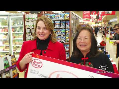 Chinese New Year 2018 at Jewel-Osco