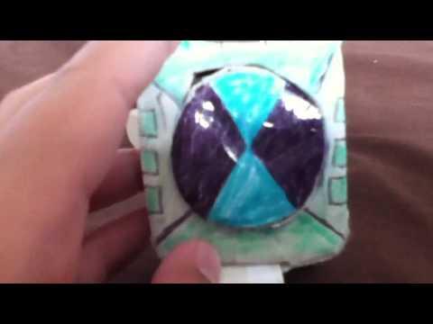 Paper Ben 10 Omnitrix Touch