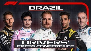 2019 Brazil Grand Prix: Pre-Race Press Conference