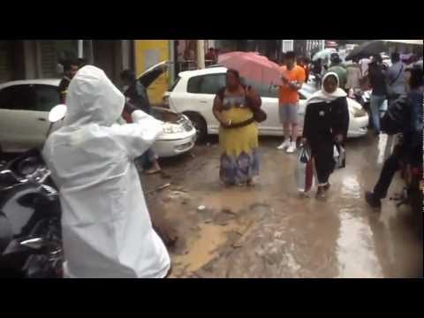 Port Louis Flooding  30 march 2013- Caudan, MHC, Kennedy Street, Royal Road.  MUST SEE!!