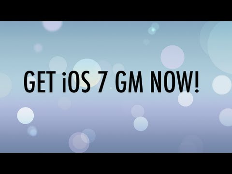 How To Download & Install iOS 7 GM (Official) - With Links! [NO UDID REQUIRED]