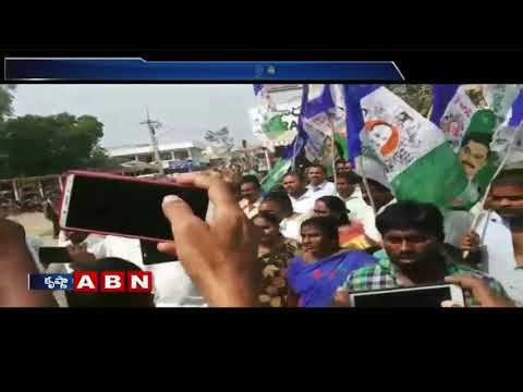YSRCP Leader Vasanth Krishna Prasad Protest At Mylavaram Police Station | ABN Telugu