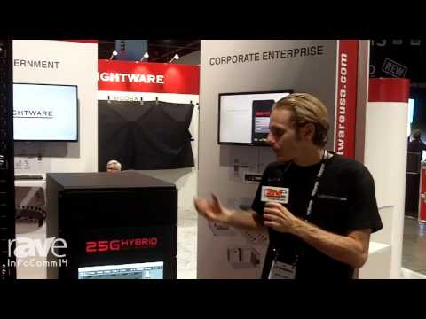 InfoComm 2014: Lightware Visual Engineering Features 25G Range of Products (Matrix Switching)