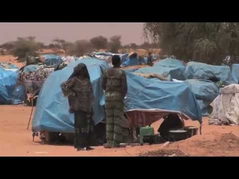 Daily life for Malian children in a refugee camp | World Vision Australia
