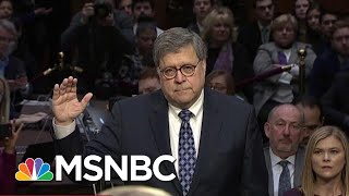 President Donald Trump AG Nominee Says Public May Never See Mueller's Report | Hardball | MSNBC