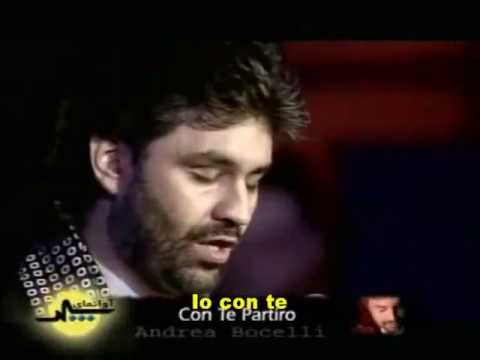 Andrea Bocelli - Con Te Partiro [Legendado]