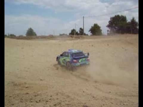 XC Subaru in Dust : First RC rally Test