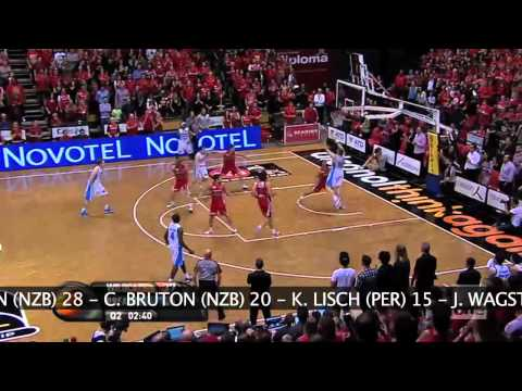 ‪iiNet NBL Grand Final Series - Game Two -  Perth Wildcats‬ v ‪New Zealand Breakers‬