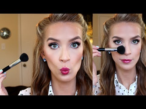 Easy Contouring + Highlighting Tutorial (+ bronzer. blush!)