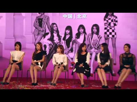 141013 T-ara Interview  Beijing video
