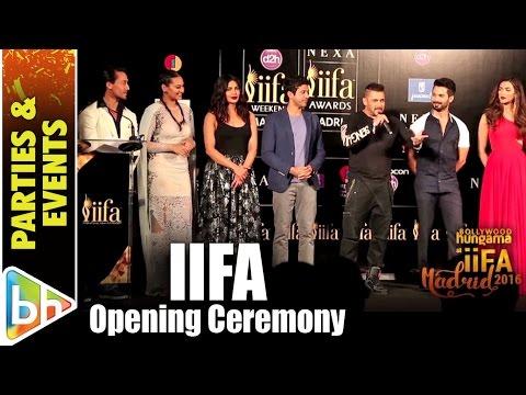 Salman Khan | Priyanka Chopra | Deepika Padukone Graced Opening Ceremony Of IIFA Madrid 2016