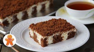 "Пирог ""Решето"" Мягкий и Сливочный (как Тирамису) ✧ Poke Cake"