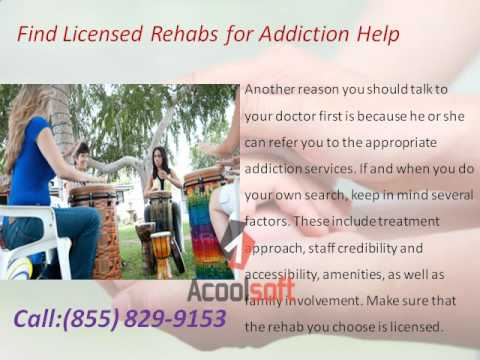 addiction help and Treatment