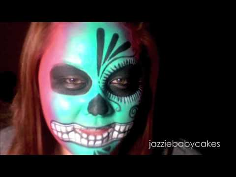 Halloween Series: Sugar Skull Tutorial Video