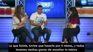 Camila Cabello habla de la nueva canción de Fifth Harmony [Subtitulado]