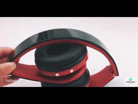 Bluetooth Headphones Over Ear Hi-Fi Sound