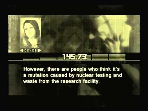 Metal Gear Solid 3 - Para-Medic's Survival Guide 18 - Tree Frog