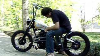 honda backyard bobber with 12 roland sands apes video clip