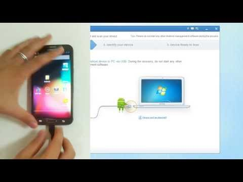 2014 Wondershare Drfone for Android - Android data recovery software