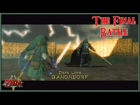The Legend of Zelda: Twilight Princess - The Dark Lord, Ganondorf - The Final Battle