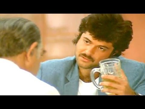 Anil Kapoor Meets Amrish Puri - Meri Jung Scene video