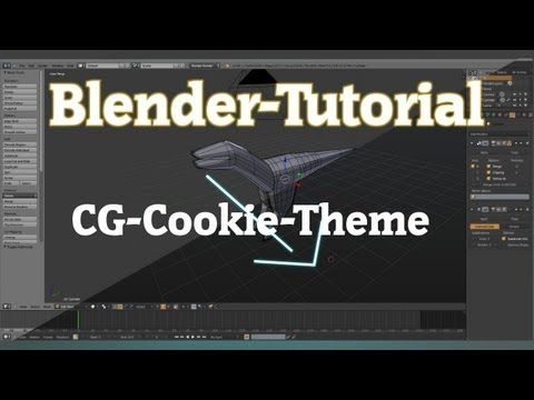 [BL] CG-Cookie Theme fr Blender