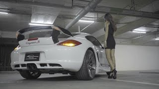 Armytrix Cat-Back Exhaust on Porsche 987.2 PDK Cayman by Hitzproject Thailand