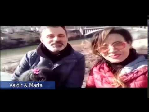Valdir e Marta, da Itália! Voluntários para legendas em Italiano! Obrigado! Que venham outros!