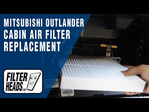 How to Replace Cabin Air Filter Mitsubishi Outlander