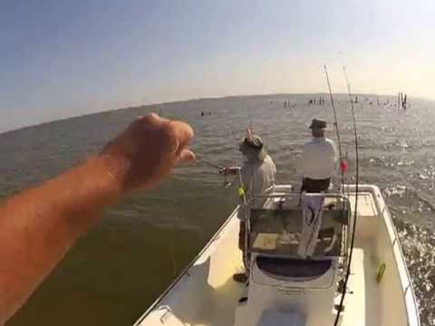 Trout FIshing Grand Isle, LA.  Reel Screamers Guide Service
