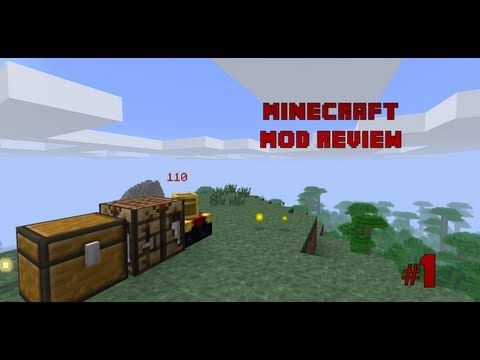 #1 Minecraft - Exp Chest Mod Review (1.2.5)