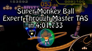 "[TAS] Super Monkey Ball ""Expert through Master"" in 4:01.733 (IGT) by byrz and CyclopsDragon"