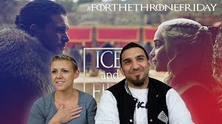 Jon and Daenerys || Ice and Fire Game of Thrones REACTION!!