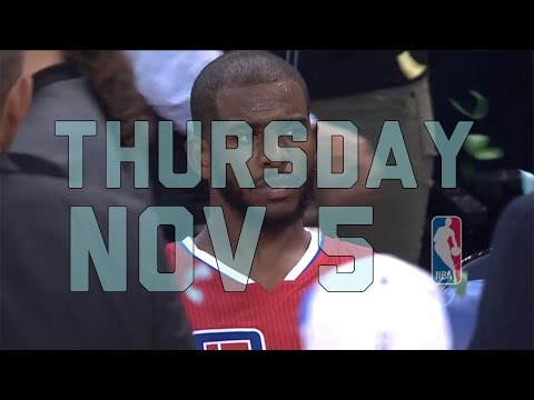 NBA Daily Show: Nov. 5 - The Starters