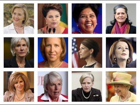 اقوى 10 نساء في العالم