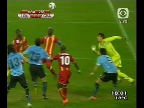Uruguay 1 - Ghana 1 // Cuartos de Final Copa del Mundo 2010 (02.07.2010)
