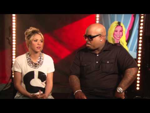 Shakira & CeeLos Official The Voice Mentors Interview