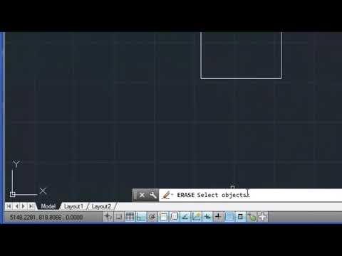 Autocad Aula  1 Comandos básicos, interface, zoom, pan apagar, undo defazer line linhas