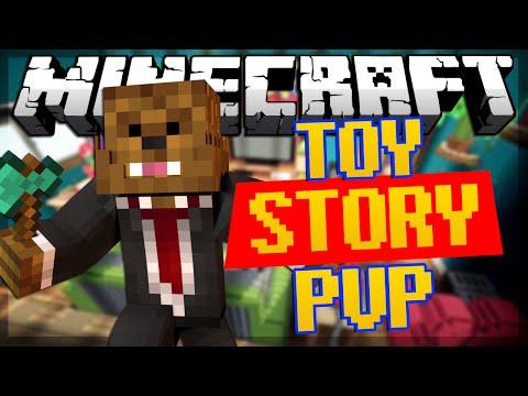 Minecraft Toy Story PVP w JeromeASF Friends