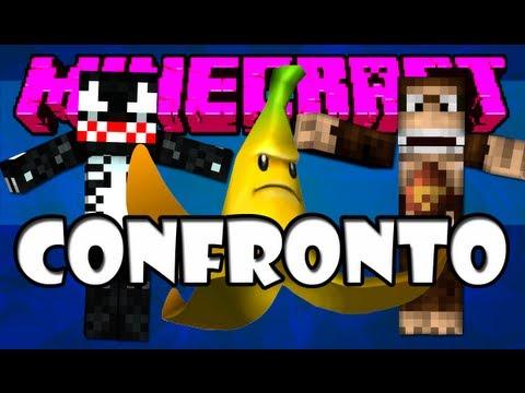 Jogos Vorazes #1: Lutando com um Macaco XD - Minecraft