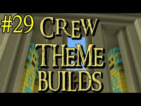 Minecraft - Crew Theme Builds - Week 29 - Harry Potter