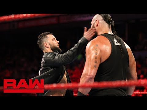 Finn Bálor slaps Braun Strowman: Raw, May 28, 2018 thumbnail