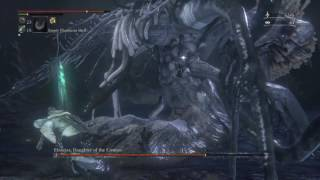 YOU DIED!HEART ATTACK!Ebrietas,Daughter of theCosmos NG+ Boss fight Bloodborne™ by BornMosher