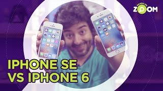 iPhone SE vs iPhone 6 - COMPARATIVO | DANDO UM ZOOM #39