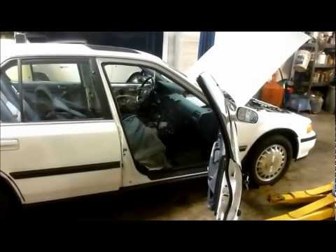 Problem solving 89-94 Honda Accord drivers door that is stuck shut