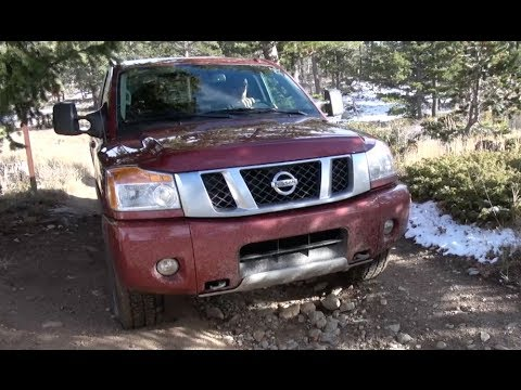 2014 Nissan Titan PRO 4X Off-Road Drive and Review
